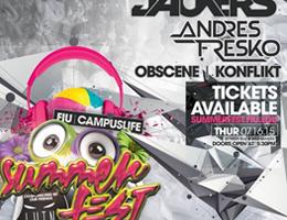FIU Summerfest 2015 promo