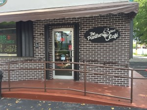 the panther's boulevard cafe storefront sweetwater
