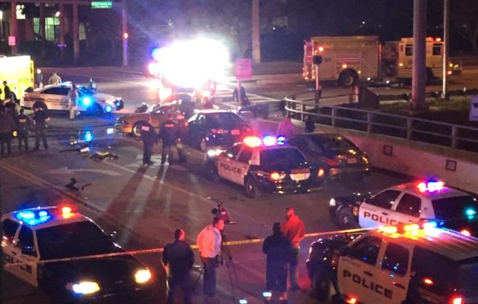 major car accident in sweetwater near FIU leaves one potential fatality