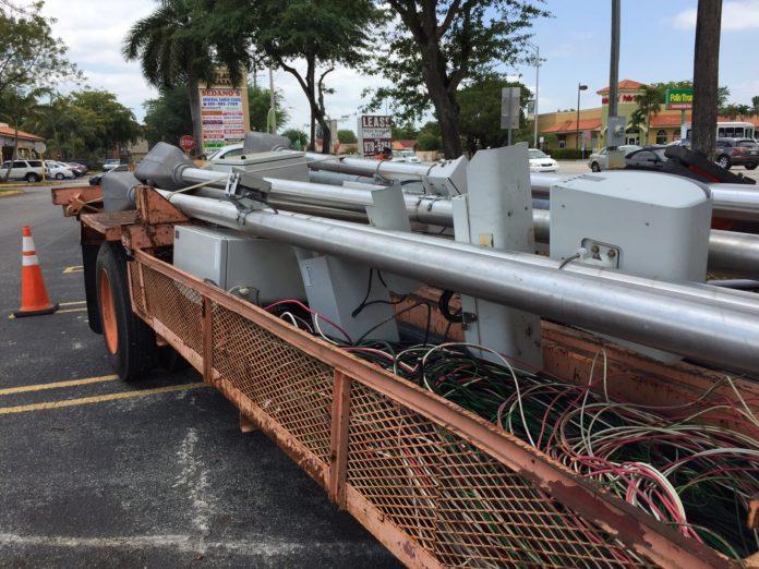 red light traffic cameras taken down sweetwater