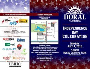 doral 2016 fireworks brochure